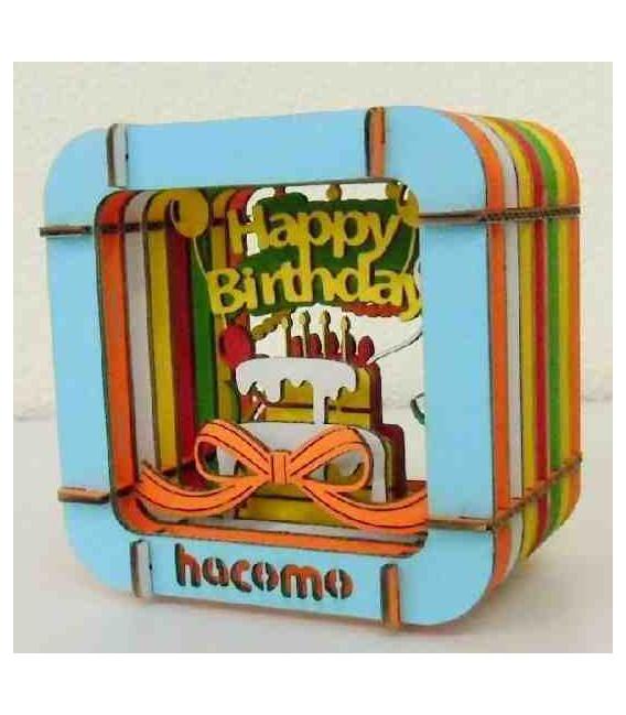 Hacomo - Tarjeta -  Happy Birthday