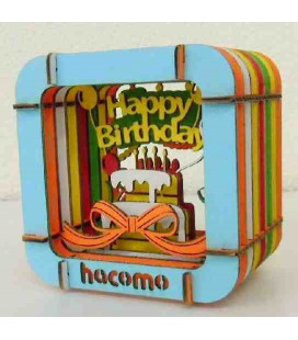 Hacomo - Gift card -  Happy Birthday