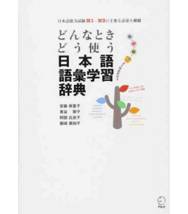 Japanese vocabulary dictionary - When and how to use words (Includes audio download)