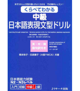 Learning through comparison - Sentence pattern drills for intermediate Japanese expression