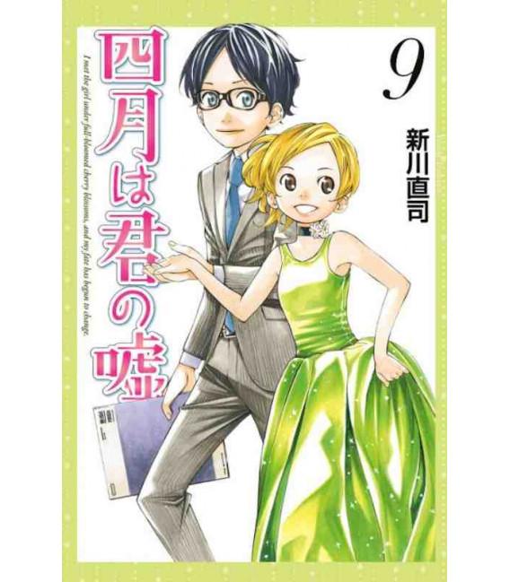Shigatsu wa Kimi no Uso - Your Lie in April - Vol. 9