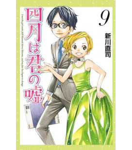 Shigatsu wa Kimi no Uso - Your Lie in April - Vol. 9