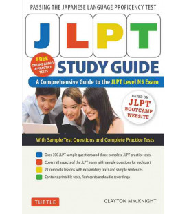 JLPT Study Guide - A Comprehensive Guide to the JLPT Level N5 Exam (Includes online audio)