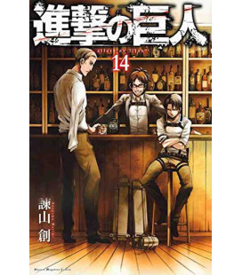 Shingeki no Kyojin (Attack on Titan) Vol. 14