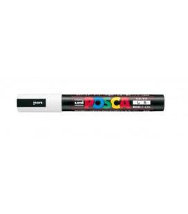 Uni Posca Marker - Model PC-5M - Thick tip - White ink