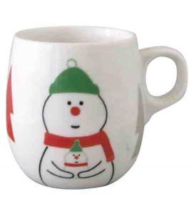 Decole - Christmas Snowman Mug - Model ZXS-74041