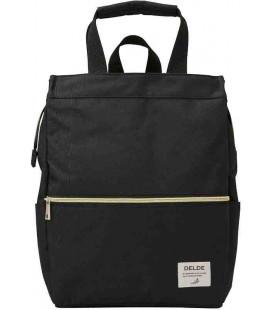Backpack Delde Tote Sun-Star - Black color - 100% polyester