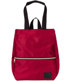 Backpack Delde Tote Sun-Star - Red color - 100% Polyester