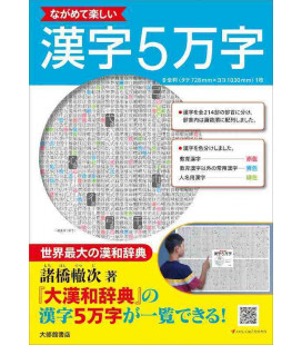 Enjoy looking at 50,000 Kanji - Kanji Poster
