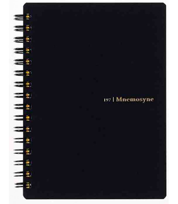 Maruman Mnemosyne Notebook N197A (A6 Size) Lined Paper