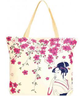 Japanese bag Kurochiku - Model Hana Bijin 3 - 100% polyester
