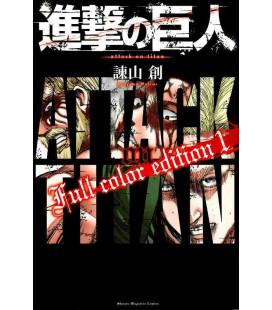 Shingeki no Kyojin (Attack on Titan) Full color edition 1