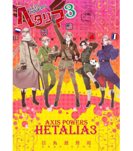 Hetalia - Axis Powers Vol.3