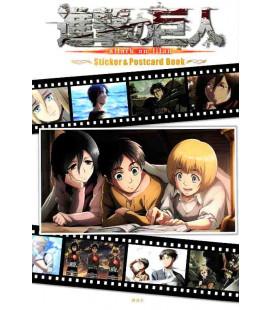 Shingeki no Kyojin (Attack on Titan) Sticker & Postcard Book