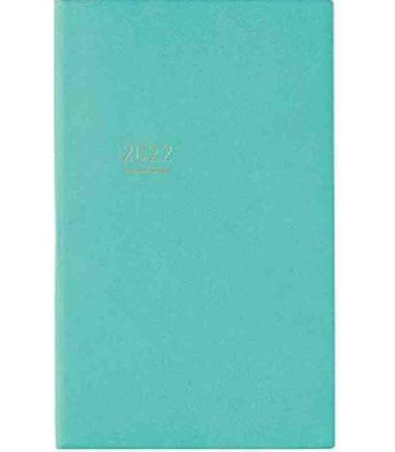 Jibun Techo Kokuyo - Weekly planner 2022 - Lite Mini Diary - B6 Slim - Turquoise