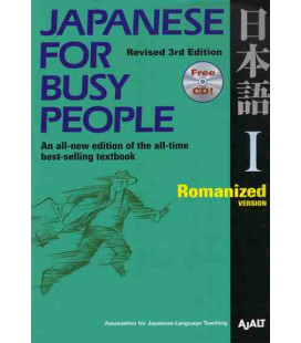 Japanese for Busy People 1. Romanized Version (Revised 3rd. Edition)- Includes CD