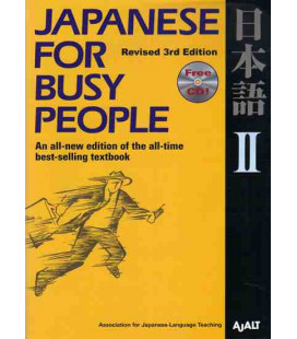Japanese for Busy People 2. Kana Version (Revised 3rd. Edition)- Includes CD
