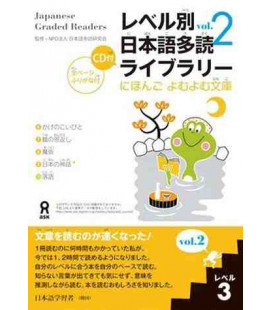 Japanese Graded Readers, Level 3- Volume 2 (Incluye CD)