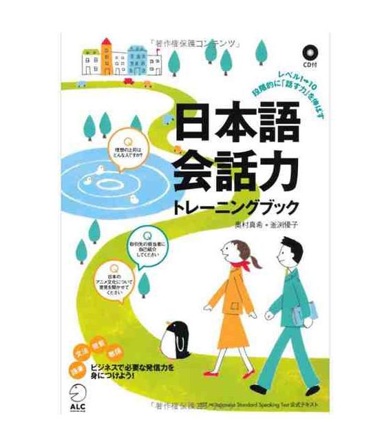 Nihongo Kaiwaryoku - book+CD (Conversation in Japanese)