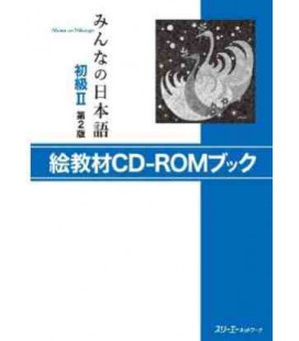 Minna No Nihongo Elementary 2 - Picture cards with CD-ROM (E-Kyouzai - Shokyu 2) Second edition