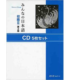 Minna No Nihongo 2- Set of 5 CDs (Second edition)