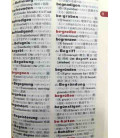 Daily Japanese-German-English Dictionary (2 Color Version)