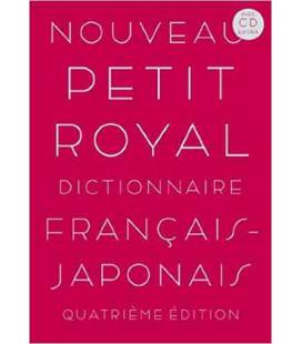Nouveau Petit Royal Dictionnaire Français-Japonais (with CD Extra)